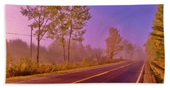 Beach Towel featuring the photograph Road To... by Daniel Thompson