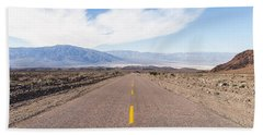 Road To Death Valley Beach Towel