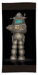 Robby The Robot Beach Towel