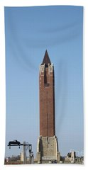 Robert Moses Tower At Jones Beach Beach Sheet