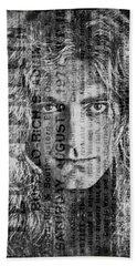Robert Plant - Led Zeppelin Beach Sheet