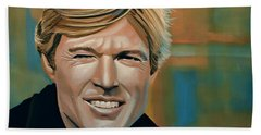 Robert Redford Beach Towel
