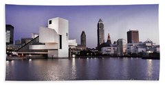 Rock And Roll Hall Of Fame - Cleveland Ohio - 2 Beach Towel