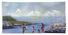 Rock Hall Beach Beach Towel