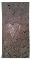 Rock Heart Beach Towel