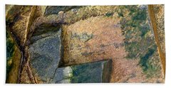 Beach Towel featuring the photograph Rock On by Liz  Alderdice