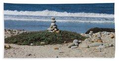 Rock Sculpture 2 Beach Sheet