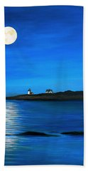 Rockport Harvest Moon Beach Towel