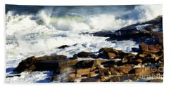 Rockport Beach Towel by Kenny Glotfelty