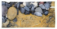 Rocks Beach Towel