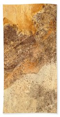 Rockscape 7 Beach Towel by Linda Bailey