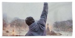 Rocky Balboa Beach Towel