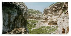 Rocky Beach In Croatia Beach Towel