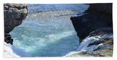 Elbow Falls Water  1.1 Beach Towel