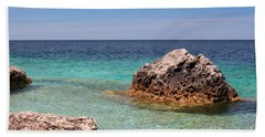 Rocky Shoals Of Tobermory Beach Towel