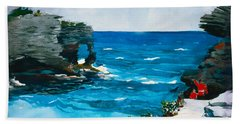 Rocky Shores Bermuda Beach Towel