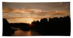 Rogue August Sunset Beach Towel by Mick Anderson