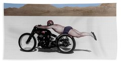 Motorcycle Beach Towels