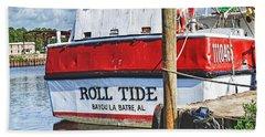 Roll Tide Stern Beach Towel
