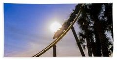 Roller Coaster Beach Towel