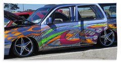 Rolling Art Lowrider Beach Towel