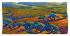 Rolling Hills 2 Beach Towel