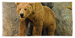 Rolling Hills Wildlife Adventure 1 Beach Towel