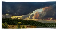 Storm Clouds Rolling In Beach Towel