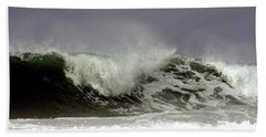 Rolling In The Deep Beach Sheet by Debra Forand