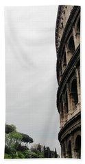 Beach Towel featuring the photograph Roman Coliseum by Tiffany Erdman