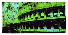 Roman Colosseum Beach Sheet