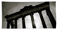 Roman Forum Beach Towel by Dave Bowman