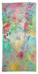 Romance Me - Acrylic On Canvas Beach Sheet