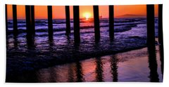 Beach Sheet featuring the photograph Romantic Stroll by Tammy Espino