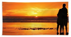 Romantic Sunset  Beach Sheet