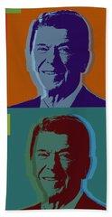 Ronald Reagan Beach Towel