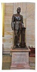 Ronald Regan -  U S Capitol Statuary Hall Beach Sheet