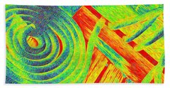 Rope Abstract Beach Towel