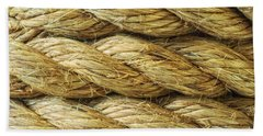 Rope Background Texture Beach Towel