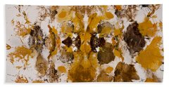 Beach Sheet featuring the painting Rorschach Test 2 by Darice Machel McGuire