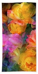 Rose 224 Beach Sheet by Pamela Cooper