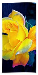 Beach Towel featuring the photograph Rose 4 by Pamela Cooper