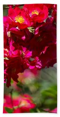Rose Bouquet Beach Towel by Michele Myers
