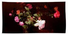 Rose Bouquet Beach Towel by Steve Karol