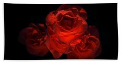 Beach Towel featuring the photograph Rose Three by David Andersen