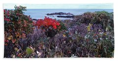 Beach Sheet featuring the photograph Rosehip by Mim White