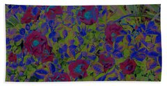 Beach Towel featuring the photograph Roses By Jrr by First Star Art