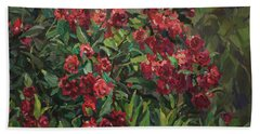 Roses In The Mountains Beach Towel