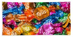 Roses Sweets Beach Towel by Matt Malloy
