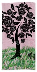 Rosey Posey Beach Towel